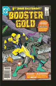 DC Comics Booster Gold No 1 February 1986