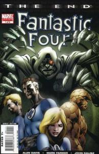 Fantastic Four: The End #1, NM (Stock photo)