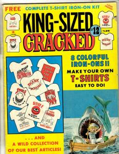 King Size Cracked #12 Cracked #174 180, 1982 1992 Major Magazines J342