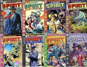 SPIRIT NEW ADVENTURES (1997 KS) 1-8  Gaiman, Alan Moore