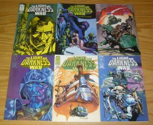 Light & Darkness War #1-6 VF/NM complete series TOM VEITCH epic comics VIETNAM
