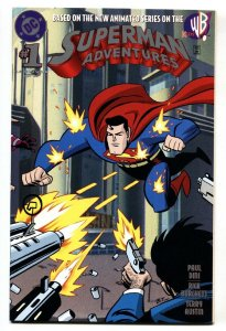 SUPERMAN ADVENTURES #1-1st APPEARANCE OF MERCY GRAVES-1997
