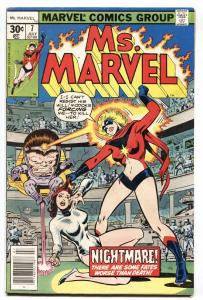 MS. MARVEL #7-1977 COMIC BOOK-Bronze Age Marvel
