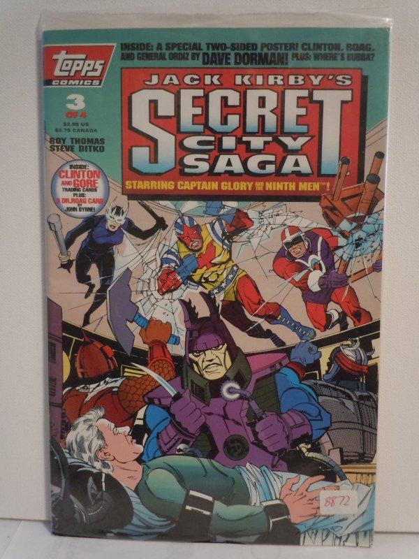 Jack Kirby's: Secret City Saga #3