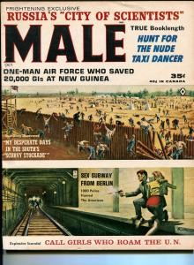 Male  10/1963-Atlas-pulp-Samson Pollen-Walter Popp-Copeland- cheesecake-FN