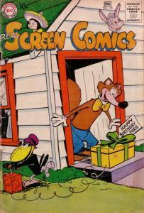 REAL SCREEN COMICS #126 FOX AND CROW EXPLOSION CVR DC G