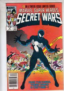 Marvel Super Heroes Secret Wars #8 (Dec-84) NM+ Super-High-Grade Marvel Heroe...