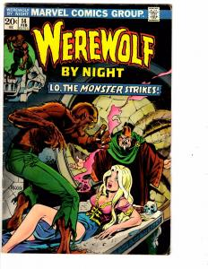 Werewolf By Night # 14 VG Marvel Comic Book Mike Ploog Art Monster Fear J149
