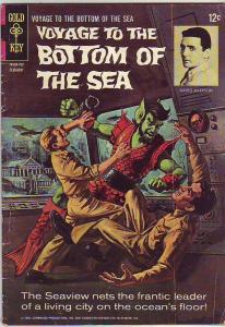 Voyage to the Bottom of the Sea #7 (Feb-67) VG Affordable-Grade Admiral Ne...