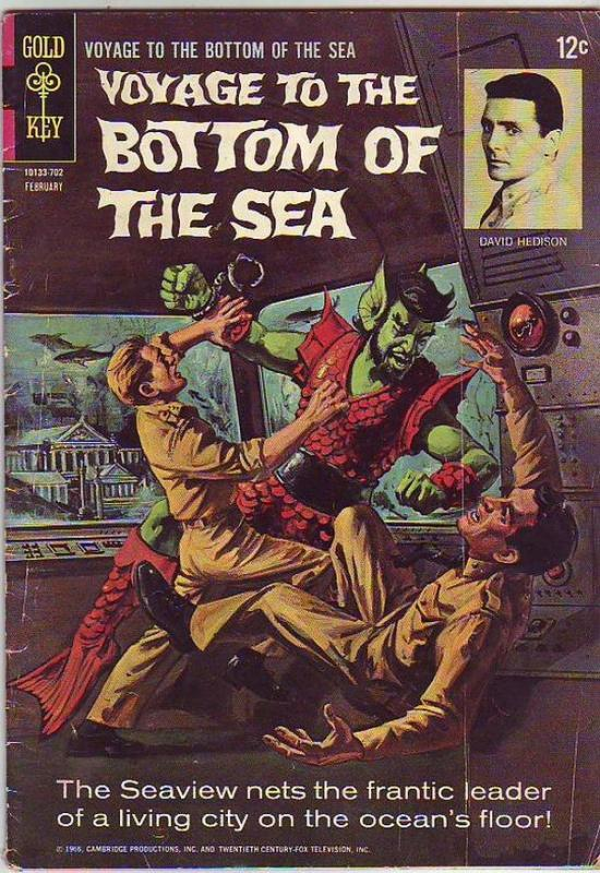 Voyage to the Bottom of the Sea #7 (Feb-67) GD/VG Affordable-Grade Admiral Ne...