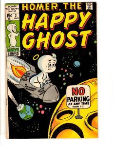 Homer The Happy Ghost # 2 VF Marvel Comic Bok Casper Nightmare Like JL11