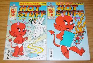 Hot Stuff Big Book #1-2 VF complete series - harvey comics - all ages fun comics