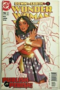 WONDER WOMAN#196 VF/NM 2002 ADAM HUGHES COVER DC COMICS