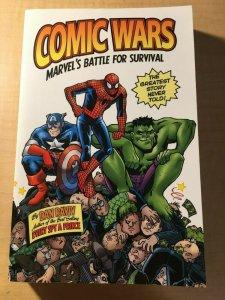 Comic Wars: Marvel's Battle For Survival Dan Raviv Book Stan Lee Jack Kirby MFT2