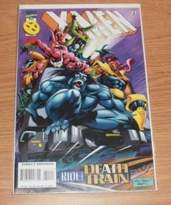 X-Men comic  # 51 (Apr 1996, Marvel) mr sinister bishop gambit beast