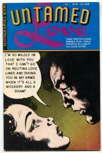 Untamed Love #1-ALL FRANK FRAZETTA Romance reprints. VF/NM