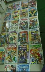 Teen Titans Specials Annual Comic Lot 22 books (years vary)