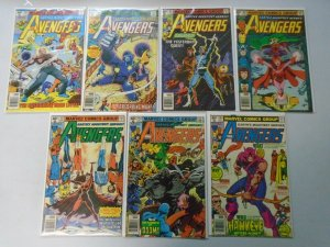 Bronze age Avengers lot 14 different 40c covers from #183-198 6.0 FN (1979-80)