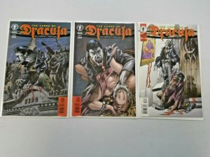 The Curse of Dracula Set #1-3 8.0 VF (1998)