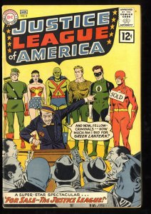 Justice League Of America #8 VG/FN 5.0