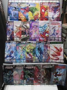 Amazing Spider-Man Lot of 22Diff from 2012-17 Dan Slott Webhead Adventures