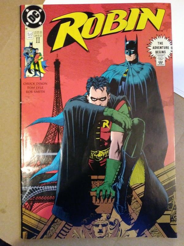 Robin #1 HTF 2nd Print 1st App Lynx DC Comics 1991