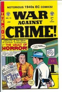 War Against Crime-#10-2001-Gemstone-EC Reprint