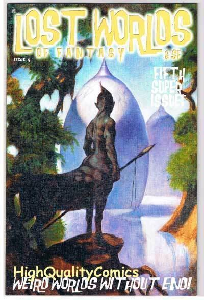 LOST WORLDS of FANTASY #5 Limited, NM, Mike Hoffman, 2003, more in our store