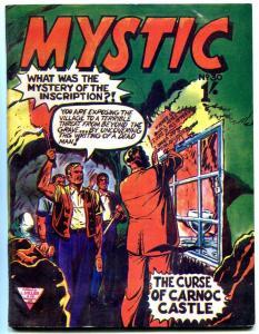 MYSTIC #30 1963 CURSE OF CARNOC CASTLE HORROR BRITISH FN
