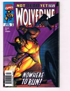 Wolverine #120 VF Marvel Comics Comic Book Ellis X Men Jan 1998 DE24