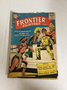 Frontier Fighters 8 Gd+ Good+ 2.5 DC Comics Western Silver Age