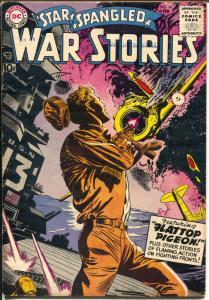 Star Spangled War Stories #66 1958-DC-Mort Drucker-flat top battle cover-VG+