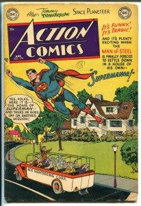 Action #179 1953-DC-Superman-RCMP Mounties-Congo Bill-vigilante-VG MINUS