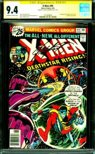 X-Men #99 CGC Graded 9.4 1st App of Black Tome Cassidy Signed by Chris Claremont
