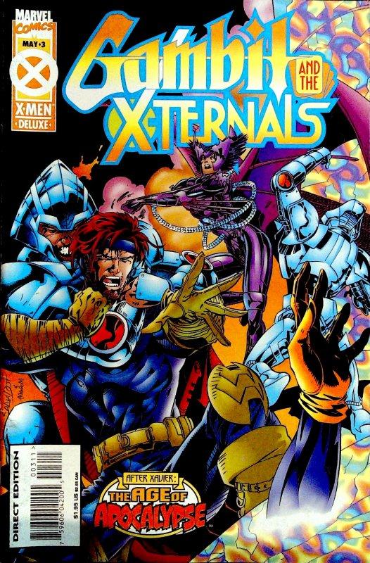 Gambit & The X-Ternals #3 (1995)