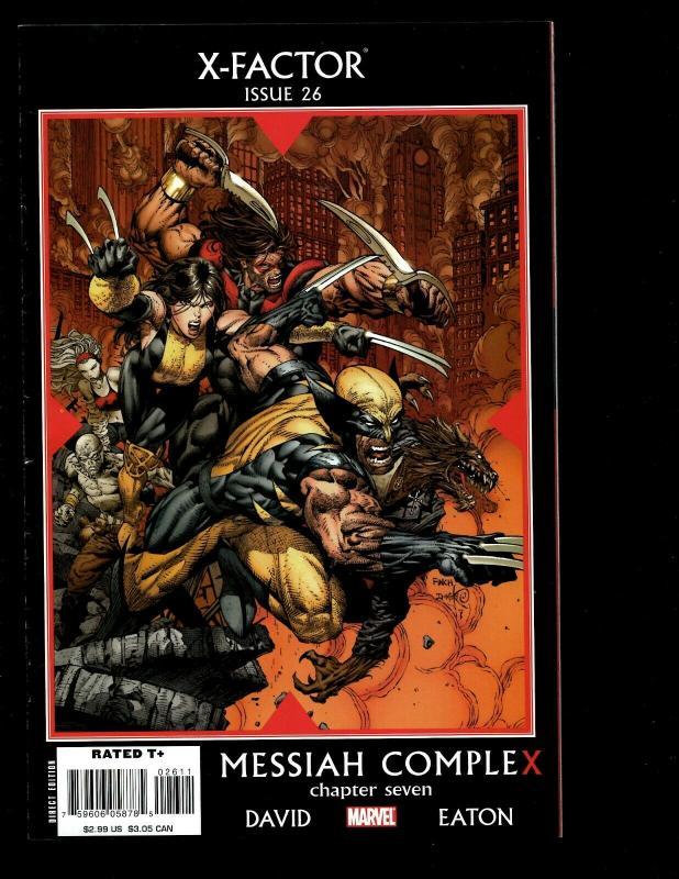 Lot Of 12 X-Factor Marvel Comics 17 18 19 20 21 22 23 24 25 26 27 28 X-Men EK10