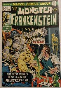The Frankenstein Monster #1 (1973)