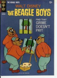 BEAGLE BOYS (1964-1979 GK) 4 VF-NM COMICS BOOK