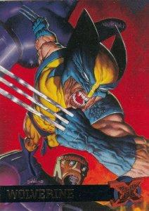 1995 FLEER ULTRA #52 WOLVERINE  CARD