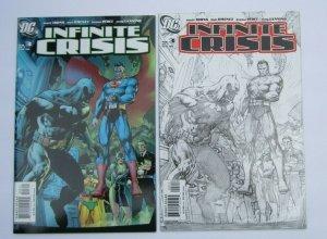 Infinite Crisis #3 Regular & Sketch Cover Variant NM 1st Jaime Reyes Blue Beetle