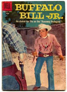 Buffalo Bill Jr #7 1958- Dick West Dell Western VG