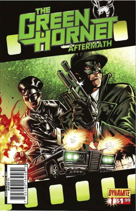 Green Hornet Aftermath #1 VF/NM Dynamite - save on shipping - details inside