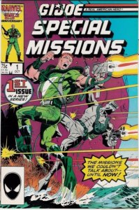 G.I. JOE Special Missions #1 Marvel Comics (ungraded) stock photo / ID#B-4 / 002