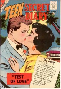 TEEN SECRET DIARY 8 F-VF Dec. 1960 COMICS BOOK