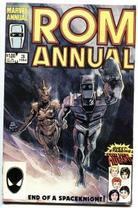 ROM Annual #3-First appearance GUTHRIE FAMILY-comic book New Mutants