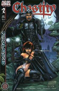 Chastity: Crazytown #2 VF/NM; Chaos   save on shipping - details inside