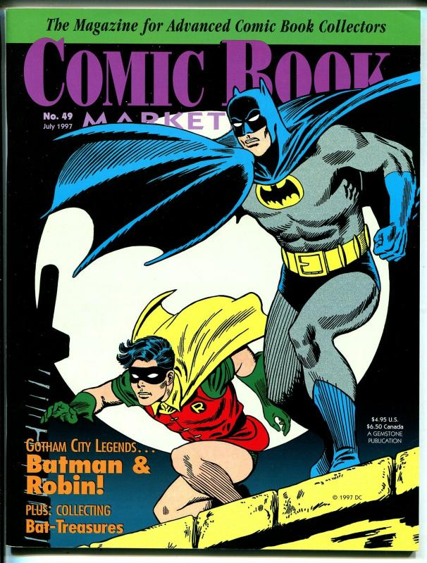 Comic Book Marketplace #49 1997-Gemstone-Batman & Robin-VF