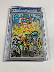 Justice League Of America Annual 2 Cgc 9.4 White Pages
