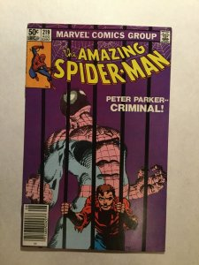 Amazing Spider-Man 219 Near Mint Nm Marvel