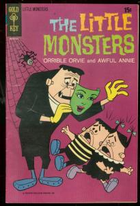 LITTLE MONSTERS #13 1964-GOLD KEY COMICS-AWFUL ANNIE FN-